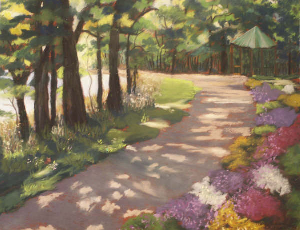 Pastel painting by artist Mary Ann Yeamans.