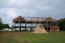 Fotos de parte del proceso de restauracion de La Casa del Marques de La Esperanza.