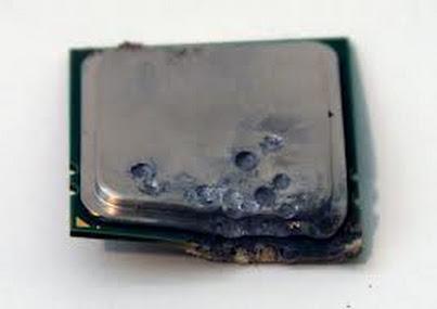 спалили процессор