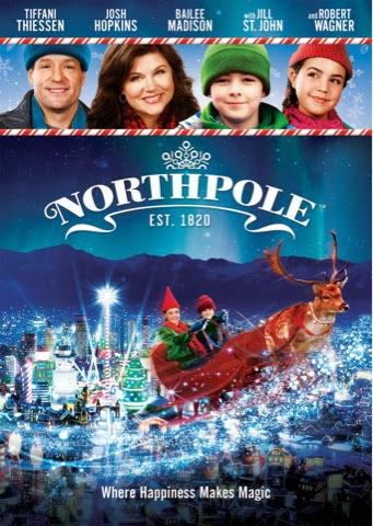 Hallmark channel s north pole movie because the north pole