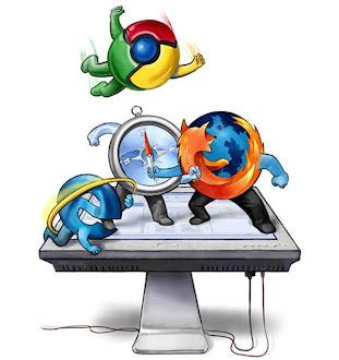 Internet Explorer, Firefox, Chrome y el resto de navegadores en 2012