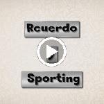Vídeo Recuerdo y Sporting 1-1