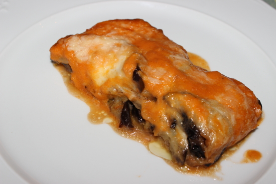 Berenjenas a la parmesana (Melanzane alla Parmigiana)