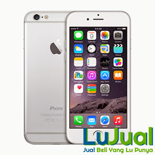 Tampilan Depan Belakang - Apple Iphone 6 | LuJual