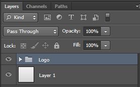 memasukkan kedua layer tersebut kedalam sebuah group