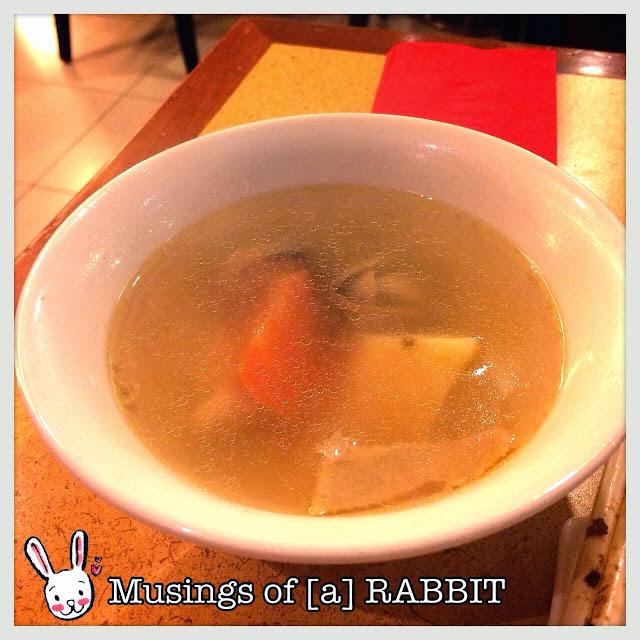 Carrot, Potato, Mushcroom, Chicken Soup