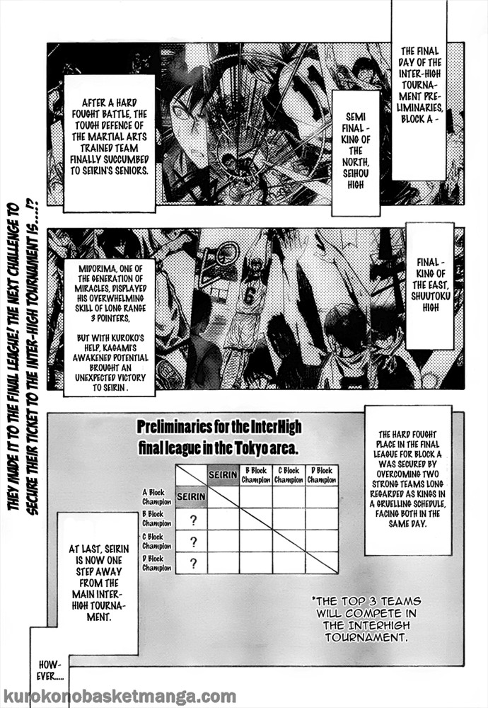 Kuroko no Basket Manga Chapter 37 - Image 01