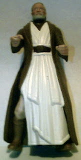 Obi-Wan 1995 Powers of the Force action figure with cloak and robe
