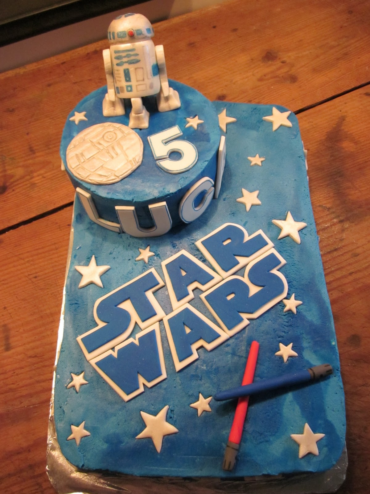 Barkers And The Bookworm Star Wars Birthday Cake