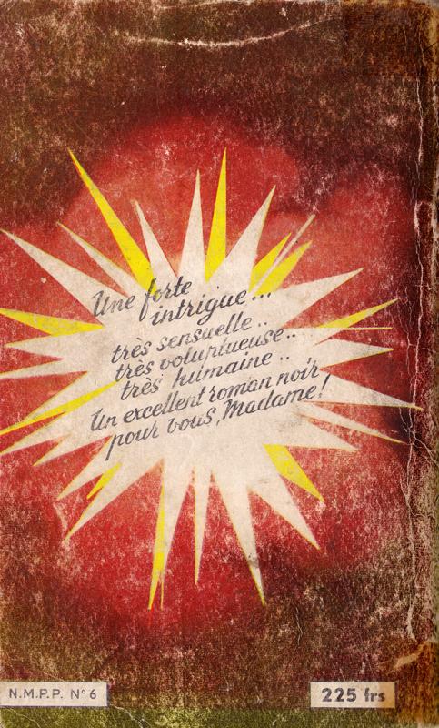 Couverture de polar / roman de gare vintage : Faut pas la toucher de Ruddy GERFEELD : un excellent roman noir pour vous, Madame  - Pour vous Madame, pour vous Monsieur, des publicités, illustrations et rédactionnels choisis avec amour dans des publications des années 50, 60 et 70. Popcards Factory vous offre des divertissements de qualité. Vous pouvez également nous retrouver sur www.popcards.fr et www.filmfix.fr