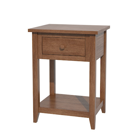 Matching Furniture Piece: Venice Nightstand with Shelf, in Royal Maple