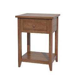 Venice Nightstand with Shelf