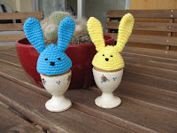 cubrehuevos conejito/rabbit egg cozies