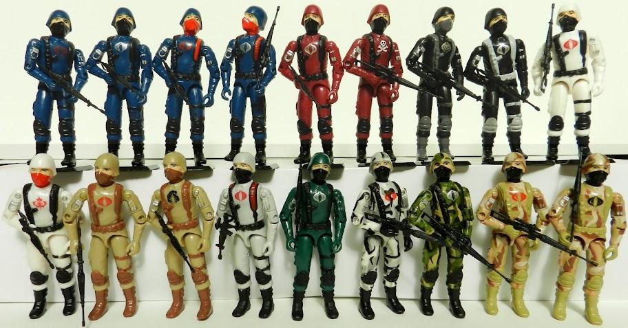 Customs G.I. Joe de Fans à découvrir ou redécouvrir!  Tous