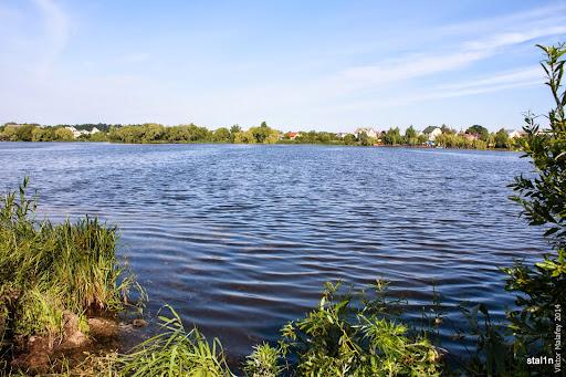 місце ловлі на озері басівкут