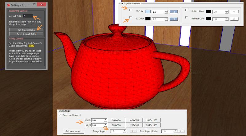 ตัวอย่างการกำหนดค่า V-Ray Options ในส่วนของ Image Sampler Vrayimagesam02