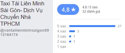 Đánh giá Taxi tải Liên Mình Sài Gòn