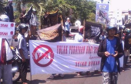 Jamaah Anti Syiah Tolak Perayaan Asyura di Semarang