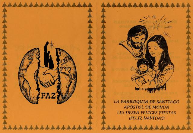 Parroquia de Monda, Felicitación 2011