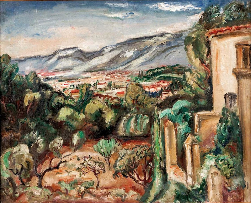 Othon Friesz - Landscape in Toulon, 1924