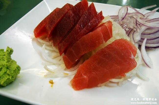 亞士都海鮮餐廳黑鮪魚生魚片