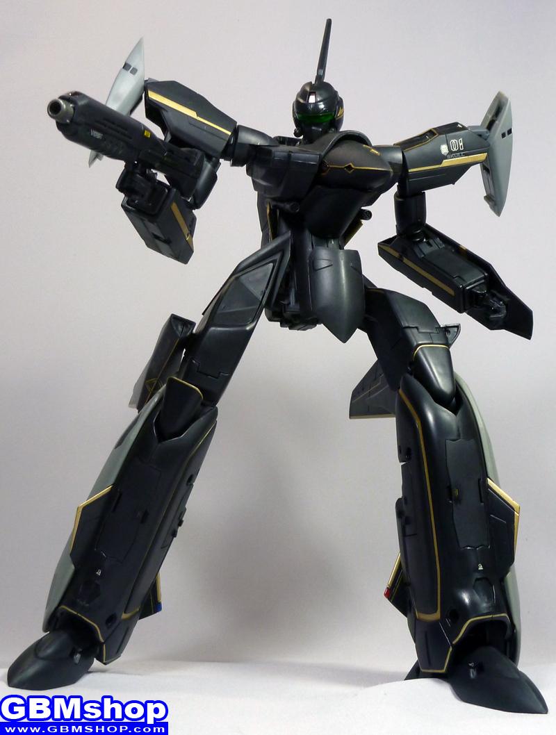 Macross VF-X VF-19A Super Black Excalibur Battroid Mode