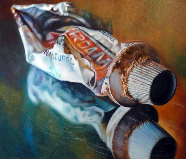 Tubo de óleo I,pintura de Suso C. Ben