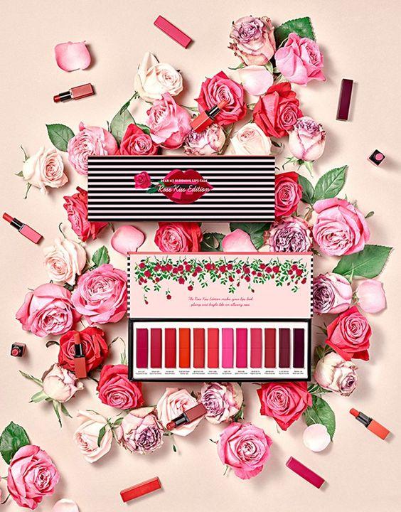 Etude House Dear My Blooming Lips -Talk Rose Kiss Edition