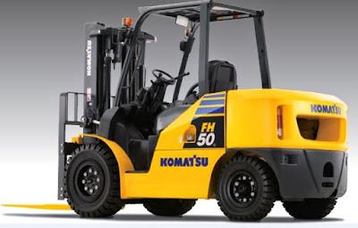 Xe nâng Komatsu 4.5 tấn FH45-1