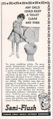 Sani-Flush 1938