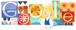 Google Doodle Mary Blair