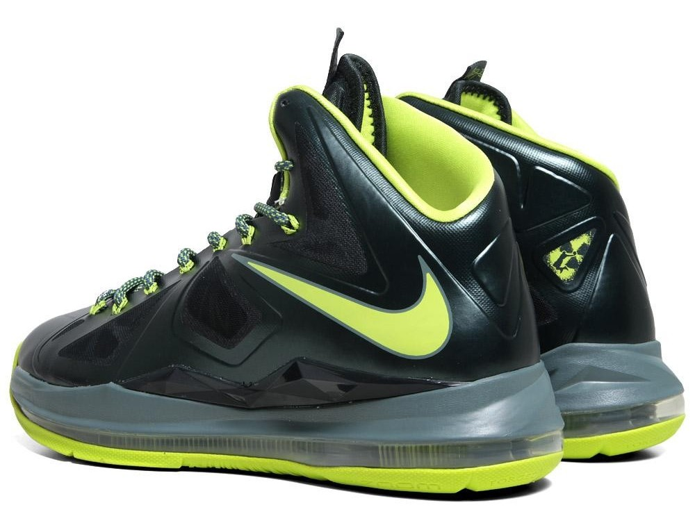 Detailed Look at Upcoming Nike LeBron X 8220Atomic Dunkman8221 ...