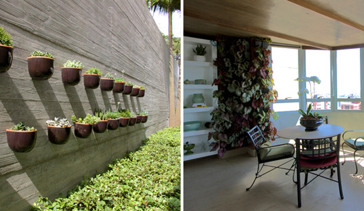 cerca para jardim vertical: que fez os meus e ela faz com cabo de vassou velha, é só reciclar
