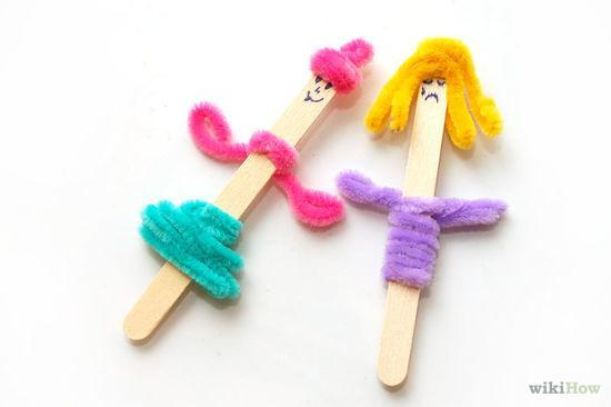 How To Make Popsicle Stick Puppets