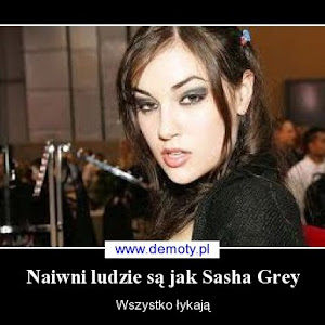 Who is Sasha Grey?