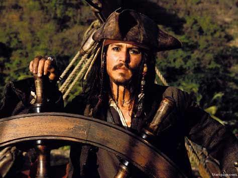 Johny Depp-Piratas del Caribe