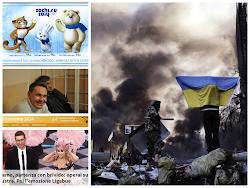 A Kiev il massacro. A Soci le Putiniadi. In Italia Sanremo 2014