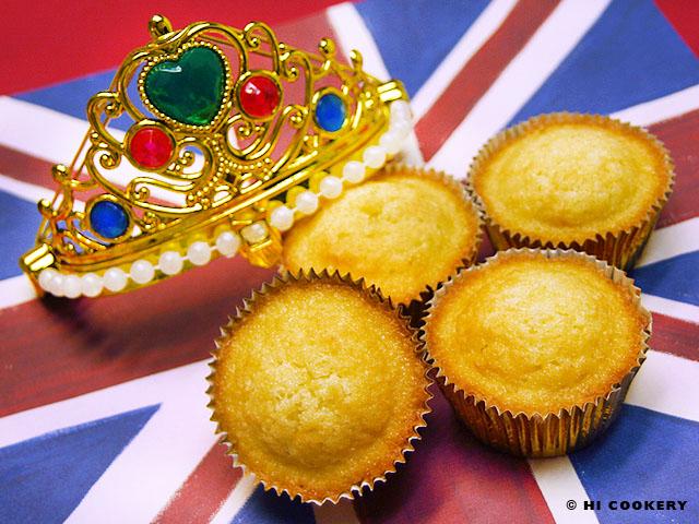 English Queen Cakes