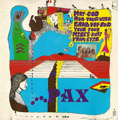 Pax ~ 1970 ~ May God And Your Will Land You And Your Love Miles Away From Evil