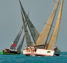J/122 racer cruiser sailboat- sailing Key West