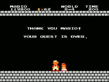 Super Mario Bros. Ending