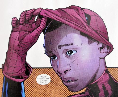 新しいスパイダーマンはヒスパニック&アフリカ系のハーフに