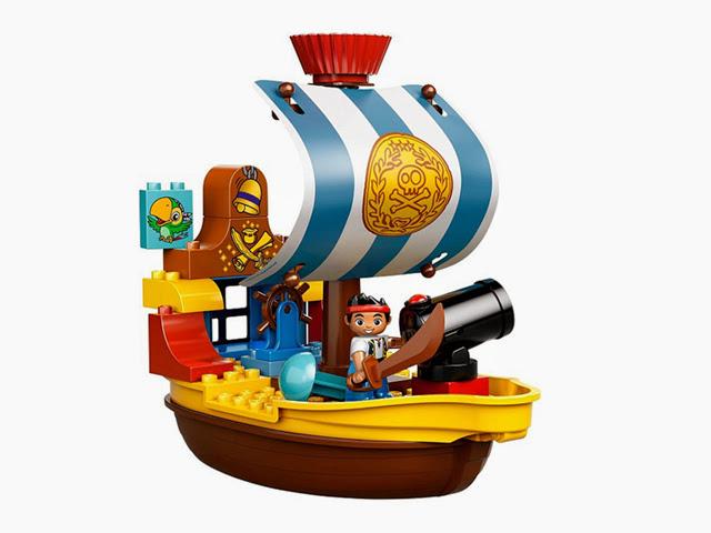 10514 レゴ デュプロ ジェイクの海賊船バッキー