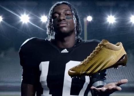 """Do What Light Does"" adidas RGIII adizero 5 star TV Ad"
