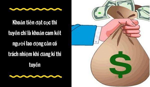 tai sao phai dong coc thi tuyen khi dang ki tham gia xuat khau lao dong nhat