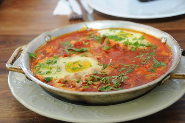 shashuka, lerner restaurant, Jerusalem