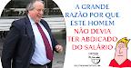 Cartoon cómico: Luís Duque não devia ter abdicado do salário de Presidente da Liga de Clubes
