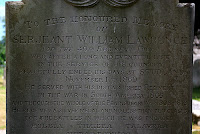 Serjeant William Lawrence at Studland Church, Dorset