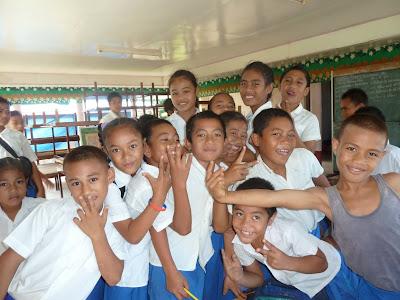 Lisa Niver Rajna in Samoa