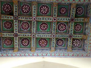 Thirumalai Nayakkar Palace -Roof art work 33